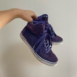 Pastry Purple High Top Sneakers Size 7
